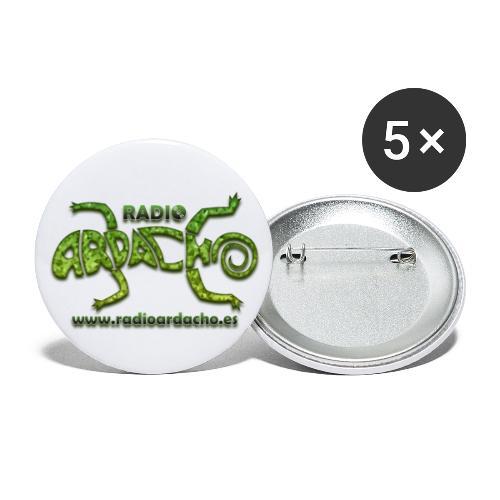 Radio Ardacho clásico - Paquete de 5 chapas grandes (56 mm)