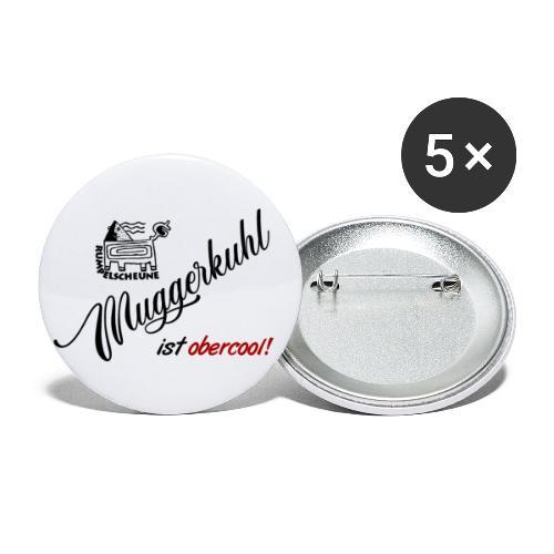 Muggerkuhl - Buttons groß 56 mm (5er Pack)