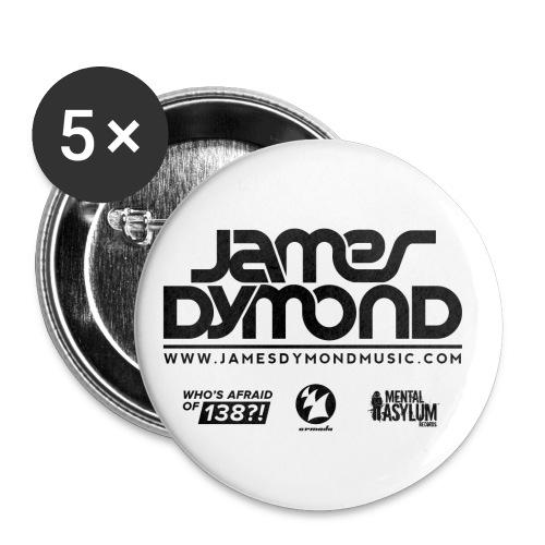 Final JD Shirt Design Black 4 png - Buttons large 2.2''/56 mm(5-pack)