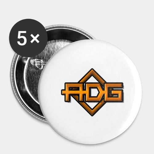 ADG - Lot de 5 grands badges (56 mm)