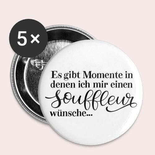 Souffleur - Buttons groß 56 mm (5er Pack)