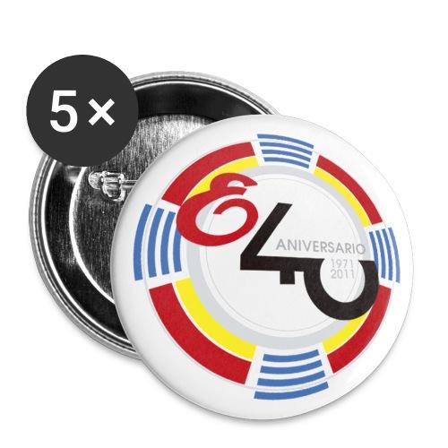 elo40 - Paquete de 5 chapas grandes (56 mm)