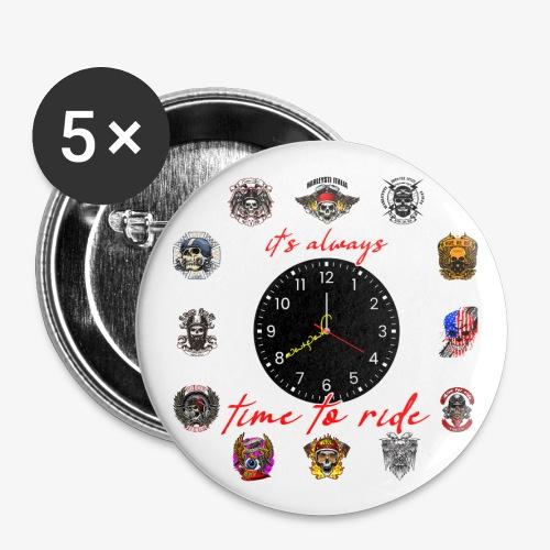 It's always time to ride - Collection - Confezione da 5 spille grandi (56 mm)