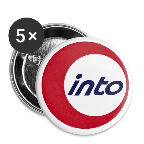 into Student Exchange - Buttons groß 56 mm (5er Pack)