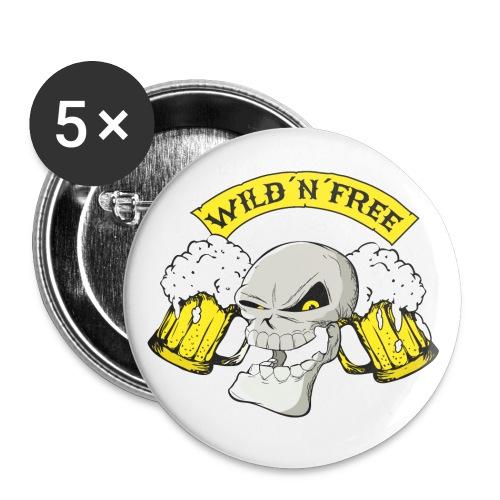 wnf neu01 png - Buttons groß 56 mm (5er Pack)