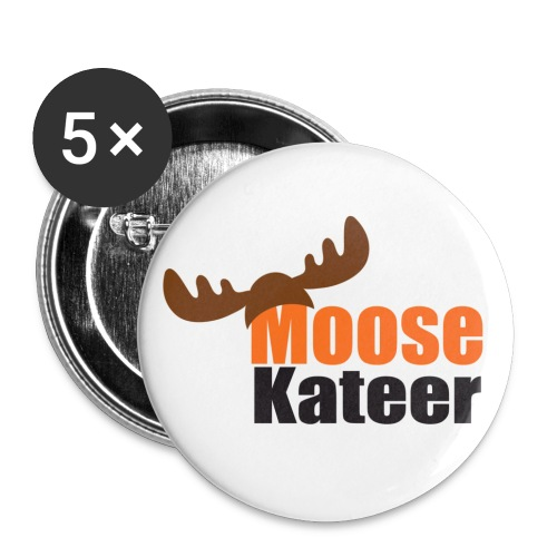 Moose-kateer (light) - Buttons large 2.2''/56 mm (5-pack)