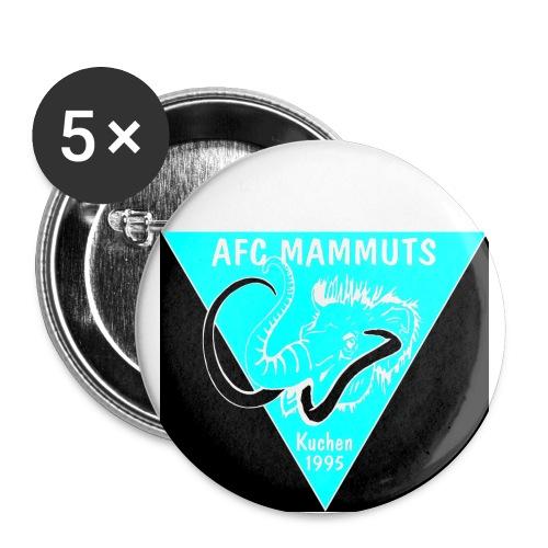 P Mammuts Logo - Buttons groß 56 mm (5er Pack)