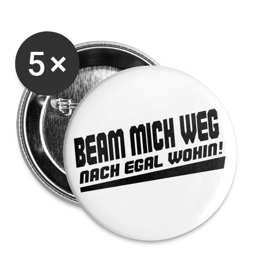 Sci-Fi Nerd Spruch - Buttons groß 56 mm (5er Pack)