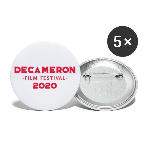 DECAMERON Film Festival 2020 - Buttons large 2.2''/56 mm(5-pack)