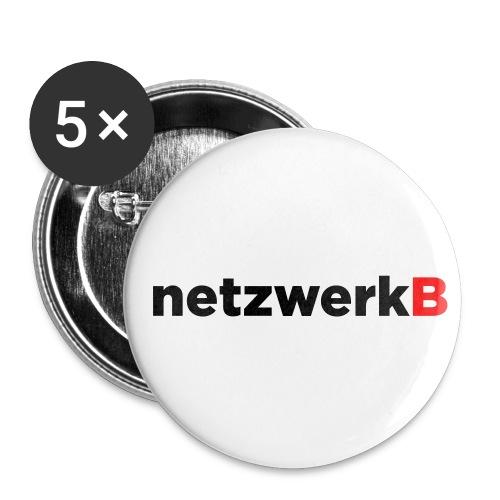 netzwerkb - Buttons groß 56 mm (5er Pack)