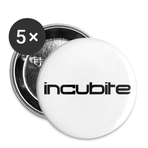 logo34 - Buttons groß 56 mm (5er Pack)