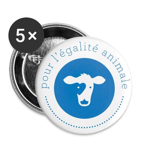 pea logo2 transparent big - Lot de 5 grands badges (56 mm)