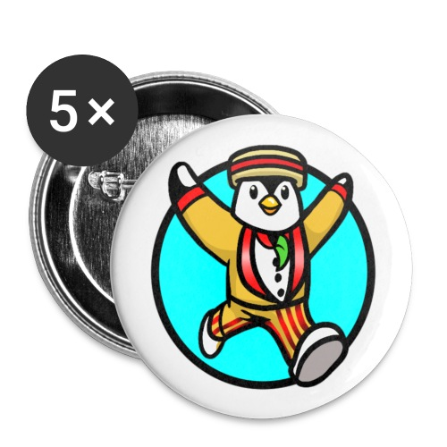 Rockery Squad Design - Buttons large 2.2''/56 mm(5-pack)