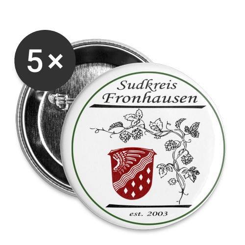 Sudkreis Logo - Buttons groß 56 mm (5er Pack)