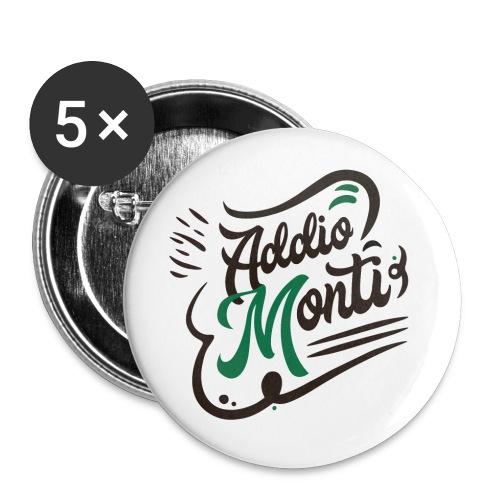 LCFun | Addio Monti - Confezione da 5 spille grandi (56 mm)