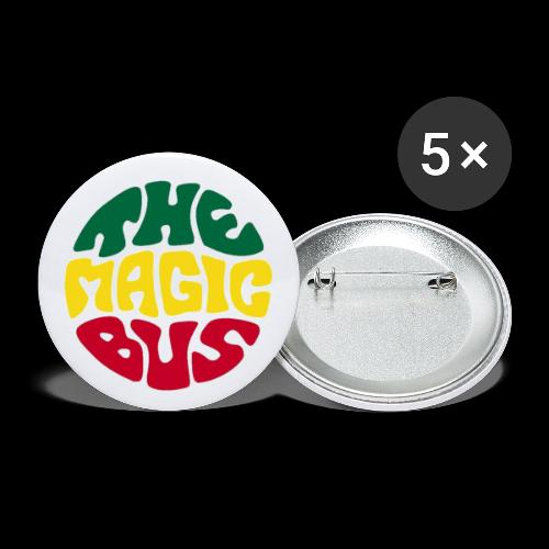 THE MAGIC BUS - Buttons large 2.2''/56 mm (5-pack)
