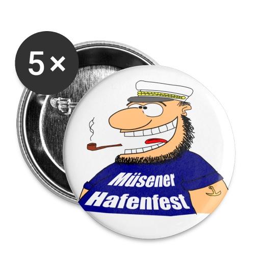 kapitaen 1 png - Buttons groß 56 mm (5er Pack)
