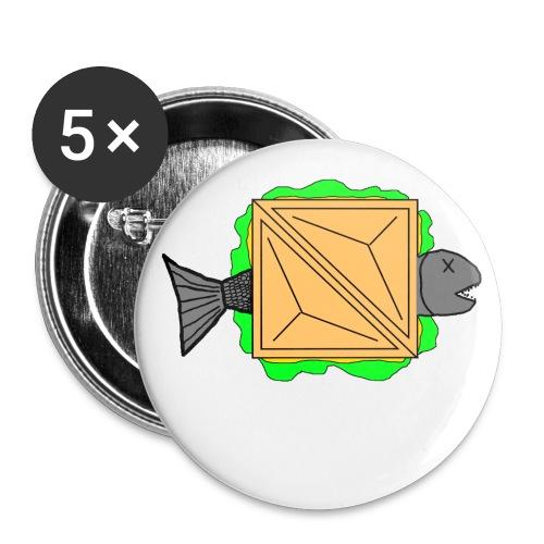 Quetschi of doom - Buttons groß 56 mm (5er Pack)