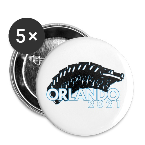 Orlando 2021 - Buttons large 2.2''/56 mm(5-pack)