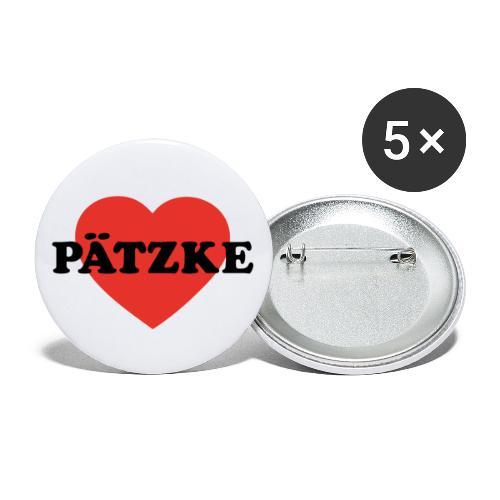 Pätzke - Buttons groß 56 mm (5er Pack)
