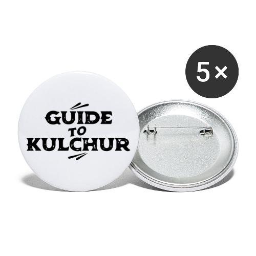 Guide to Kulchur - Buttons large 2.2''/56 mm(5-pack)