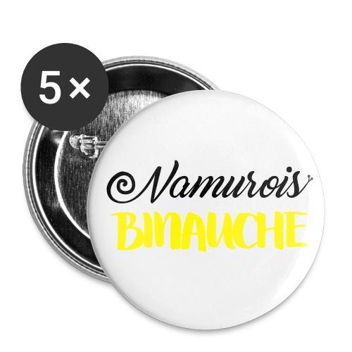 namurois binauche - Lot de 5 grands badges (56 mm)
