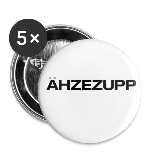 Ähzezupp - Buttons groß 56 mm (5er Pack)