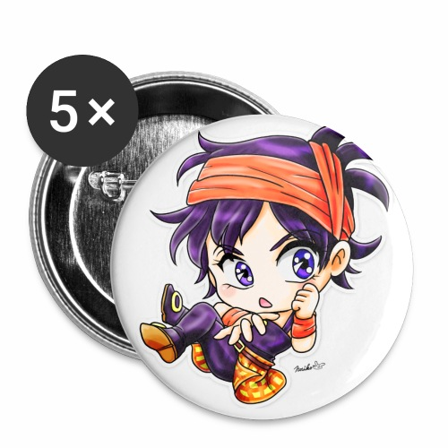 Narancia Ghirga - Buttons groot 56 mm (5-pack)