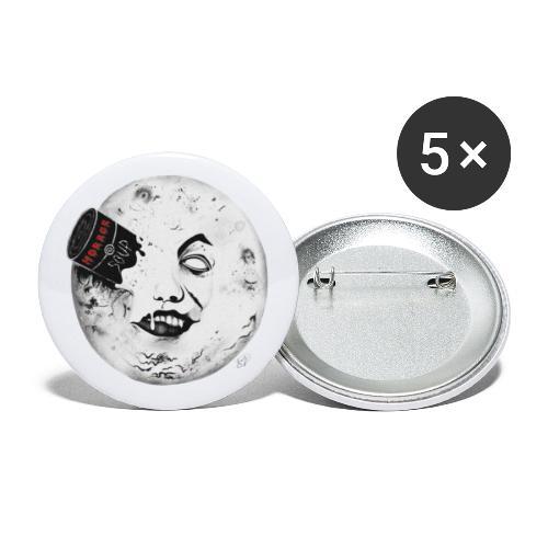Bad Moon - Confezione da 5 spille grandi (56 mm)