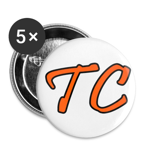 TC branding button png - Buttons groot 56 mm (5-pack)