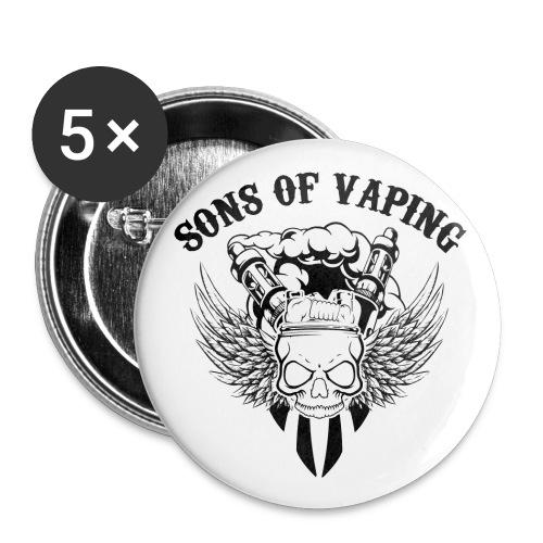 Sons Of Vaping - Confezione da 5 spille grandi (56 mm)
