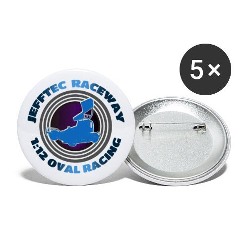 Jefftec Raceway 1:12 Oval Racing - Buttons large 2.2''/56 mm(5-pack)