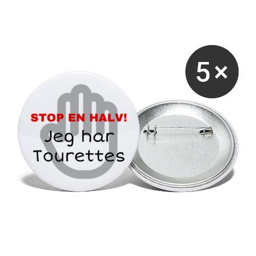 JEG HAR TOURETTES - Buttons/Badges stor, 56 mm (5-pack)