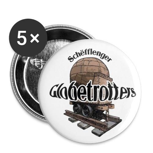 glob fuerw mega jpg - Buttons groß 56 mm (5er Pack)