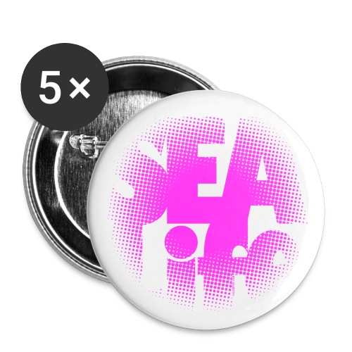 Sealife surfing tees, clothes and gifts FP24R01B - Rintamerkit isot 56 mm (5kpl pakkauksessa)