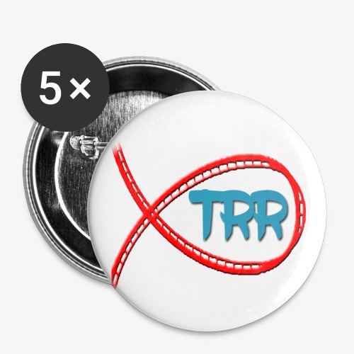 trr logo proper - Buttons large 2.2''/56 mm (5-pack)