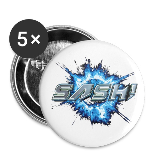 SASH! Planet - Buttons large 2.2''/56 mm(5-pack)