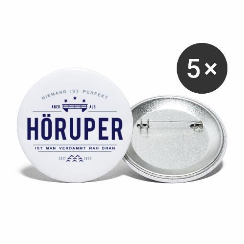 Hörup - ganz nah dran! - Buttons groß 56 mm (5er Pack)
