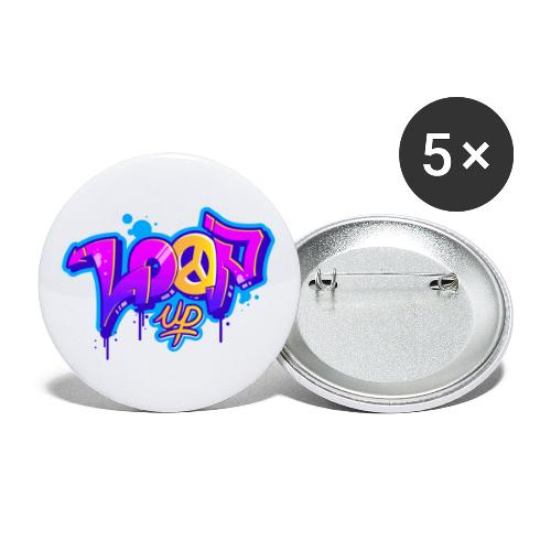 Look for Loop UP - Buttons groß 56 mm (5er Pack)