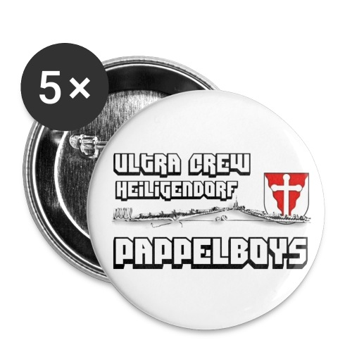 papbig - Buttons groß 56 mm (5er Pack)
