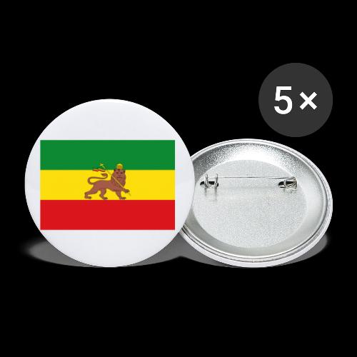 LION FLAG - Buttons large 2.2''/56 mm (5-pack)