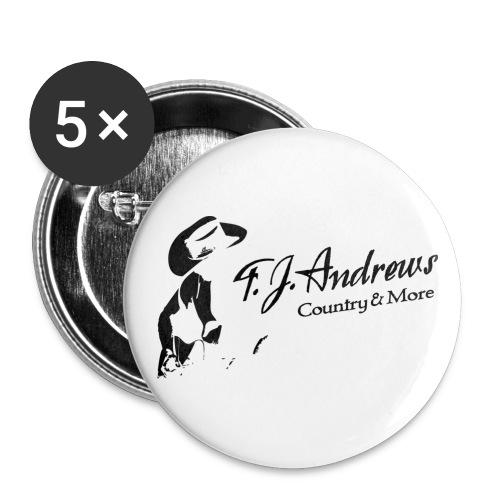 TJA big black png - Buttons groß 56 mm (5er Pack)