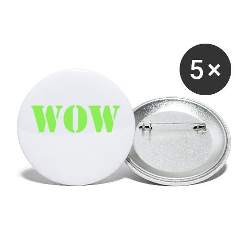 War on weakness hell - Buttons groß 56 mm (5er Pack)