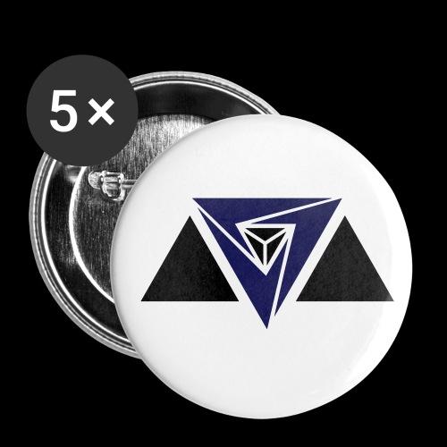 Neu-Alliierten Fraktion - Buttons groß 56 mm (5er Pack)