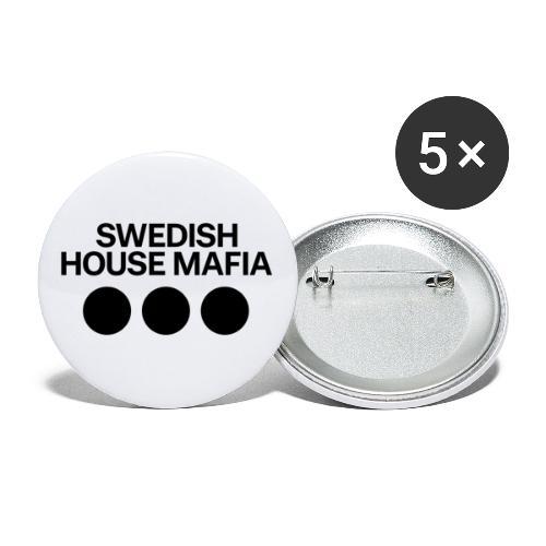 SHM 2019 - Lot de 5 grands badges (56 mm)