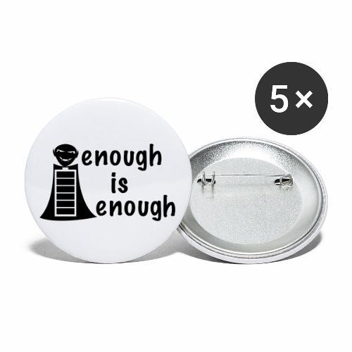 Energievampire - Buttons groß 56 mm (5er Pack)