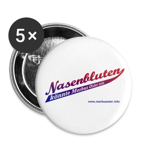 nasenbluten_color - Buttons groß 56 mm (5er Pack)