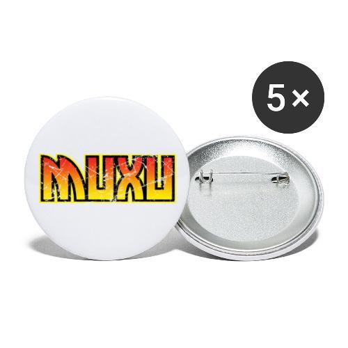 Muxu Grunge - Paquete de 5 chapas grandes (56 mm)