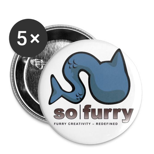 sofurry t shirt weiss 2012 png - Buttons large 2.2''/56 mm(5-pack)