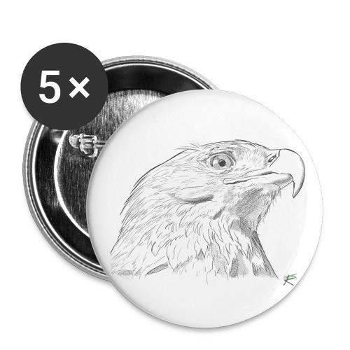 Aquila - Confezione da 5 spille grandi (56 mm)